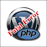 Fatal Error WordPress